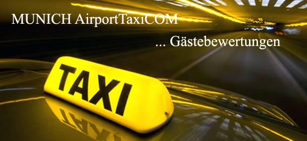 Munich AirportTaxiCOM: Gästebewertungen